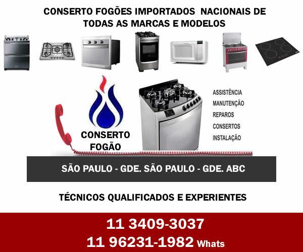 Conserto de Fogão em São Paulo